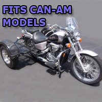 Outlaw Series Scooter Trike Kit - Fits All Can-Am Models