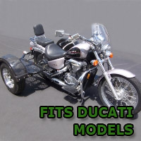 Outlaw Series Scooter Trike Kit - Fits All Ducati Models