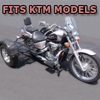 Outlaw Series Scooter Trike Kit - Fits All KTM Models