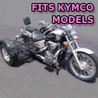 Outlaw Series Scooter Trike Kit - Fits All Kymco Models