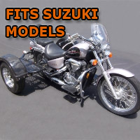 Outlaw Series Scooter Trike Kit - Fits All Suzuki Models