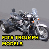 Outlaw Series Scooter Trike Kit - Fits All Triumph Models