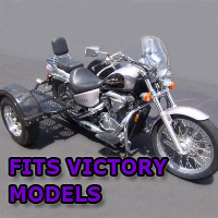 Outlaw Series Scooter Trike Kit - Fits All Victory Models