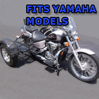Outlaw Series Scooter Trike Kit - Fits All Yamaha Models