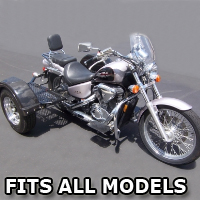 Outlaw Series Scooter Trike Kit - Fits All Models