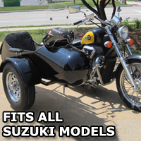 Standard RocketTeer Side Car Motorcycle Sidecar Kit - Suzuki Models