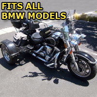 Outlaw Series Motorcycle Trike Kit - Fits All BMW Models