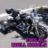 Outlaw Series Motorcycle Trike Kit - Fits All Buell Models