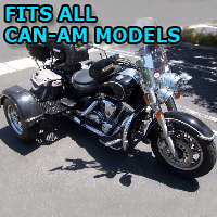 Outlaw Series Motorcycle Trike Kit - Fits All Can-Am Models