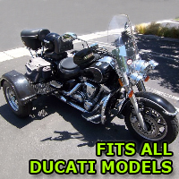 Outlaw Series Motorcycle Trike Kit - Fits All Ducati Models