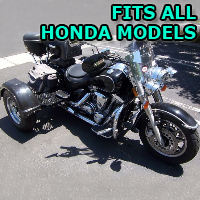 Outlaw Series Motorcycle Trike Kit - Fits All Honda Models