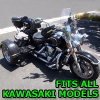 Outlaw Series Motorcycle Trike Kit - Fits All Kawasaki Models
