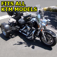 Outlaw Series Motorcycle Trike Kit - Fits All KTM Models