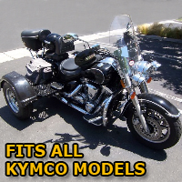 Outlaw Series Motorcycle Trike Kit - Fits All Kymco Models