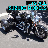 Outlaw Series Motorcycle Trike Kit - Fits All Suzuki Models