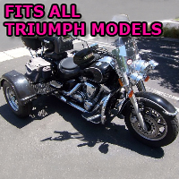 Outlaw Series Motorcycle Trike Kit - Fits All Triumph Models