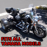 Outlaw Series Motorcycle Trike Kit - Fits All Yamaha Models