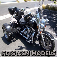 Outlaw Series Motorcycle Trike Kit - Fits All ACM Models