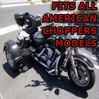 Outlaw Series Motorcycle Trike Kit - Fits All American Chopper Models