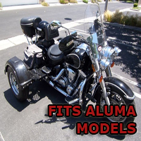 Outlaw Series Motorcycle Trike Kit - Fits All Aluma Models