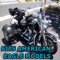 Outlaw Series Motorcycle Trike Kit - Fits All American Eagle Models