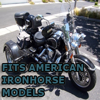 Outlaw Series Motorcycle Trike Kit - Fits All American Ironhorse Models