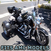 Outlaw Series Motorcycle Trike Kit - Fits All American Motor Company Models