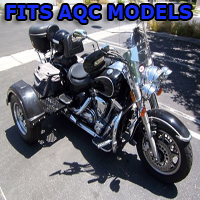 Outlaw Series Motorcycle Trike Kit - Fits All American Quantum Cycles Models