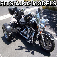 Outlaw Series Motorcycle Trike Kit - Fits All A.P.C. Models