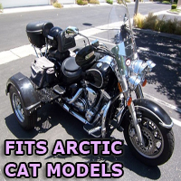Outlaw Series Motorcycle Trike Kit - Fits All Arctic Cat Models