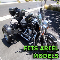 Outlaw Series Motorcycle Trike Kit - Fits All Ariel Models