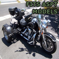 Outlaw Series Motorcycle Trike Kit - Fits All ASPT Models