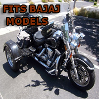 Outlaw Series Motorcycle Trike Kit - Fits All Bajaj Models