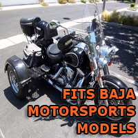 Outlaw Series Motorcycle Trike Kit - Fits All Baja Motorsports Models