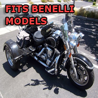Outlaw Series Motorcycle Trike Kit - Fits All Benelli Models