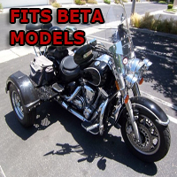 Outlaw Series Motorcycle Trike Kit - Fits All Beta Models