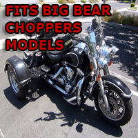 Outlaw Series Motorcycle Trike Kit - Fits All Big Bear Choppers Models