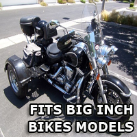 Outlaw Series Motorcycle Trike Kit - Fits All Big Inch Bikes Models