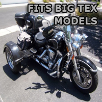 Outlaw Series Motorcycle Trike Kit - Fits All Big Tex Models