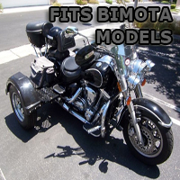 Outlaw Series Motorcycle Trike Kit - Fits All Bimota Bikes Models