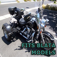 Outlaw Series Motorcycle Trike Kit - Fits All Blata Models