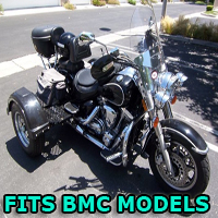 Outlaw Series Motorcycle Trike Kit - Fits All BMC Models