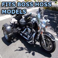 Outlaw Series Motorcycle Trike Kit - Fits All Boss Hoss Models
