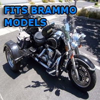 Outlaw Series Motorcycle Trike Kit - Fits All Brammo Models