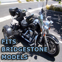 Outlaw Series Motorcycle Trike Kit - Fits All Bridgestone Models