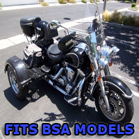 Outlaw Series Motorcycle Trike Kit - Fits All BSA Models