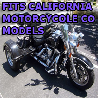 Outlaw Series Motorcycle Trike Kit - Fits All California Motorcycle Co Models