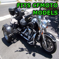 Outlaw Series Motorcycle Trike Kit - Fits All CFMoto Models