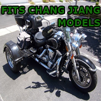 Outlaw Series Motorcycle Trike Kit - Fits All ChangJiang Models
