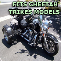 Outlaw Series Motorcycle Trike Kit - Fits All Cheetah Trikes Models